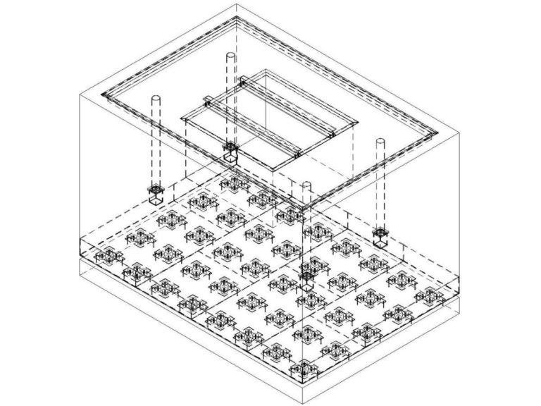 01-pro-mar-mlot-swobodnego-kucia-M1350-fundament-na-wibroizolacji-gumowej